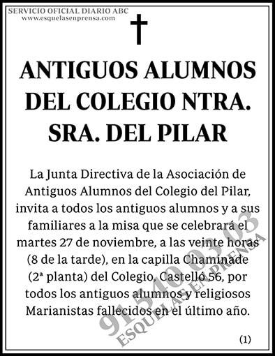 Antiguos Alumnos del Colegio Ntra. Sra. del Pilar
